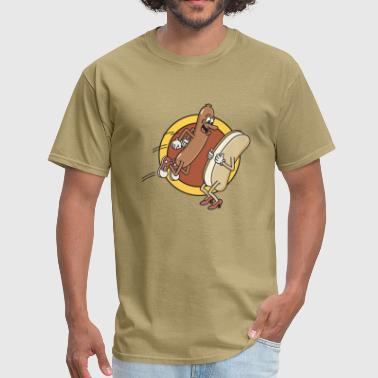 Hot Dogs - Men's T-Shirt