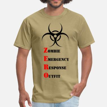 Emergency Response Zombie Emergency Response Outfit - Men's T-Shirt