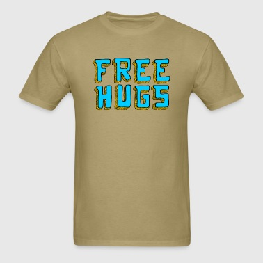 Free Hugs Crewneck - Men's T-Shirt