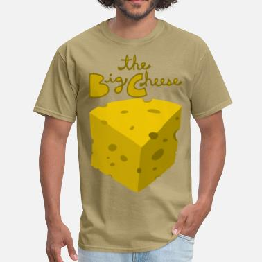 Cheese  the big cheese - Men's T-Shirt