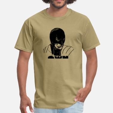 One Weird Nation Clothing Est Mmxii MASKED HERO - Men's T-Shirt