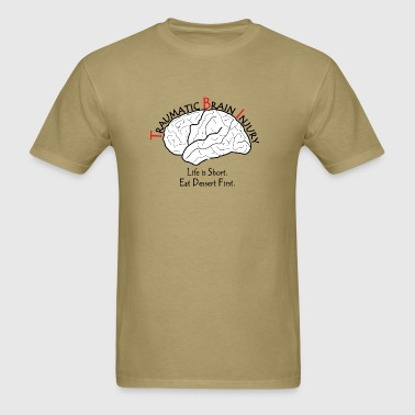 TBI - Eat Dessert First - Men's T-Shirt