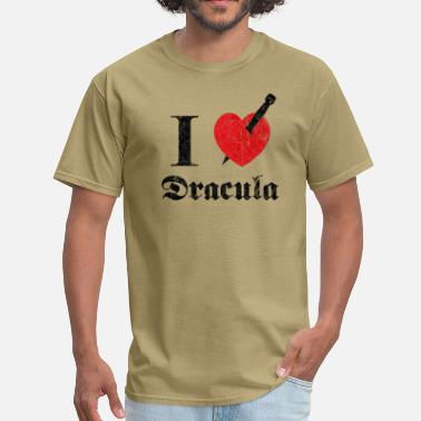 I love (to kill) Dracula (dd print) - Men's T-Shirt