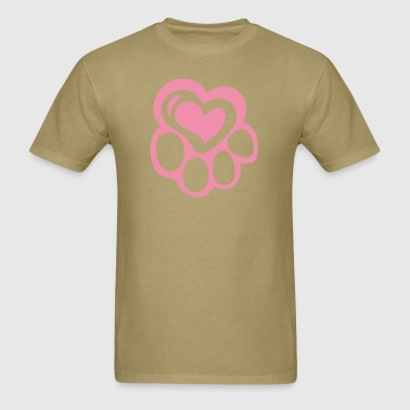 Paw at Heart - Men's T-Shirt