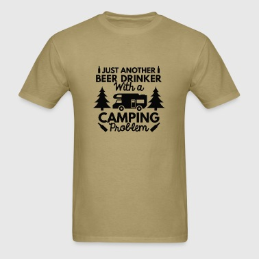 Beer Drinker Camping - Men's T-Shirt