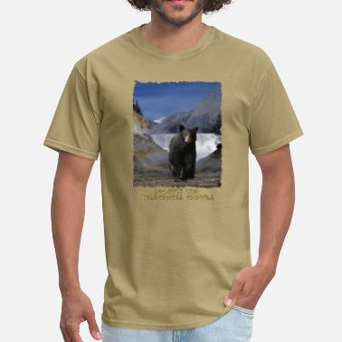 Poppa BLACK BEAR FALLS Shirt - Men's T-Shirt