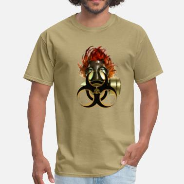 Gasmask biohazard - Men's T-Shirt
