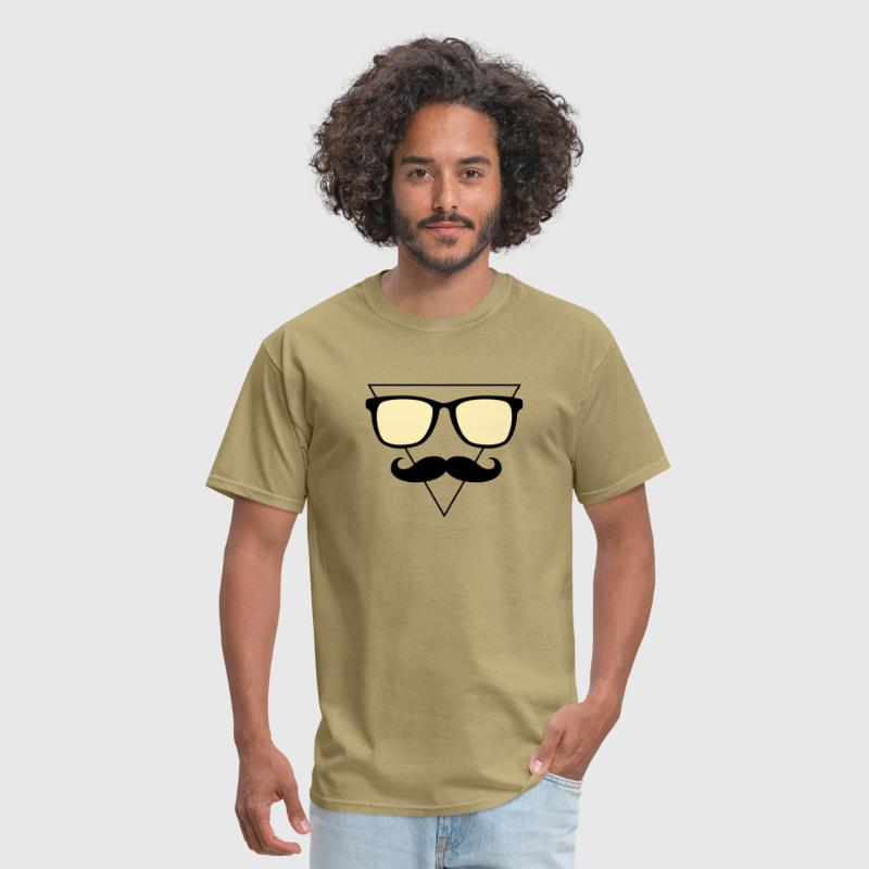 Hipster Triangle down 2.2c - Men's T-Shirt