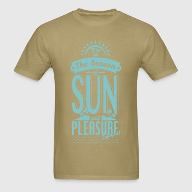 Season of Sun & Pleasure - Men's T-Shirt