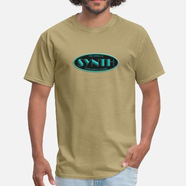 Synth-pop analog synth - Men's T-Shirt
