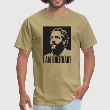 Andrew Breitbart I am Breitbart - black - Men's T-Shirt