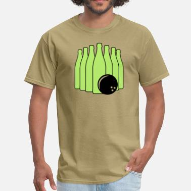 Beer Bowling Beer Bowling with Bowling Ball - Men's T-Shirt