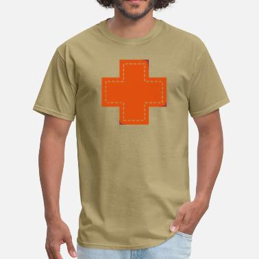 Patch cross patch - Men's T-Shirt