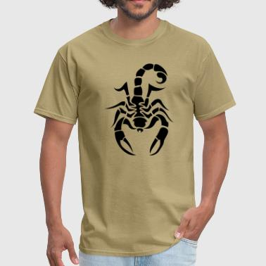Scorpion Tribal 1c - Men's T-Shirt