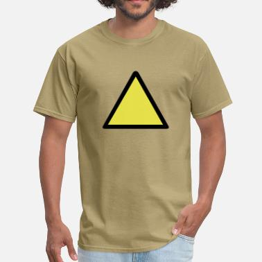 Warning Sign Warning Sign - Men's T-Shirt