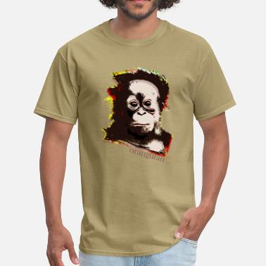 Jungle orangutan - Men's T-Shirt