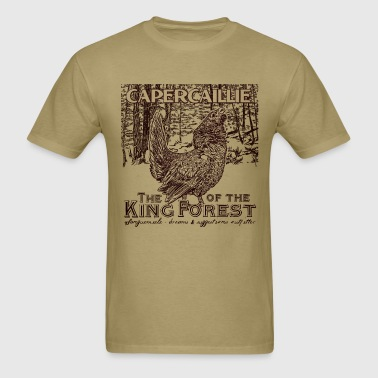 capercaillie_king_of_the_forest - Men's T-Shirt
