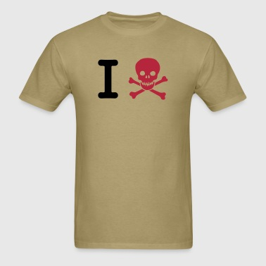 I hate  - Men's T-Shirt