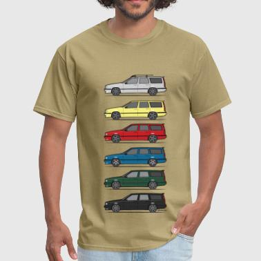 Volvo Turbo Wagons - Men's T-Shirt