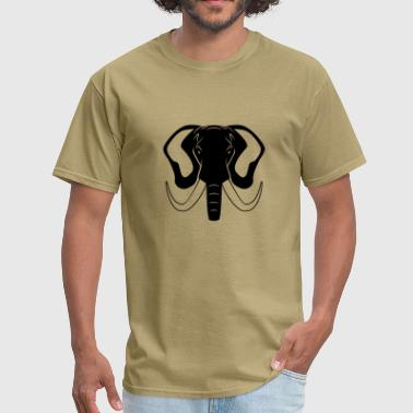 Elephant Head Elephant - Men's T-Shirt