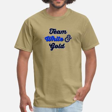 Team Black And Blue Team White Gold 2 - Men's T-Shirt