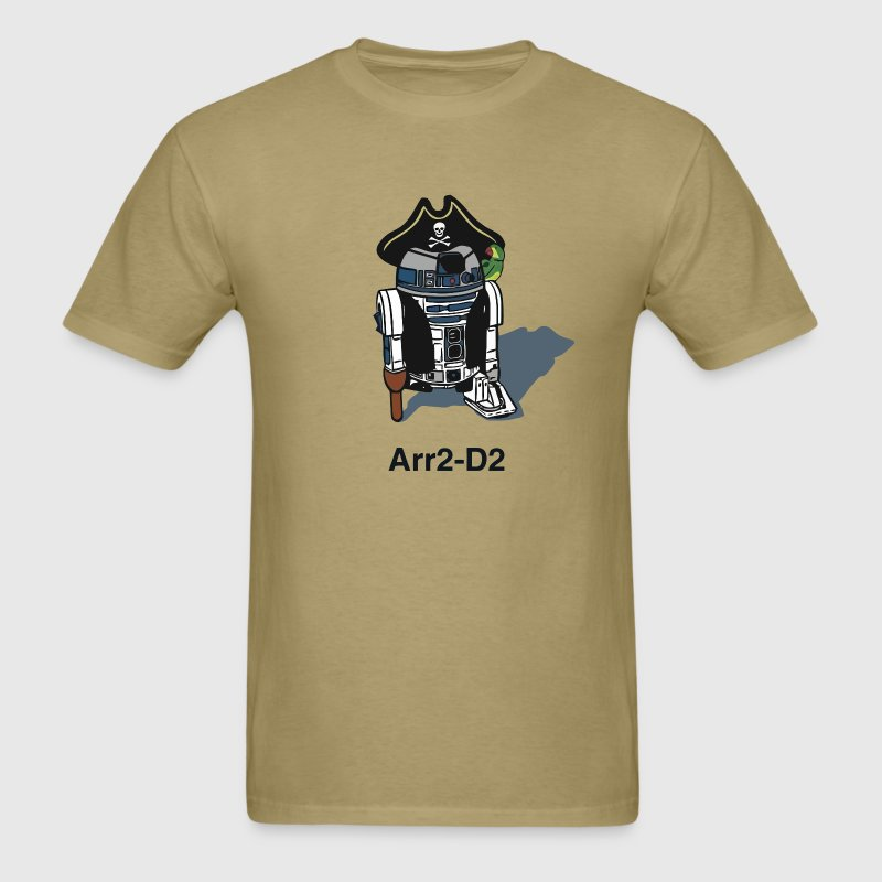 Funny star wars r2d2 pirate - Men's T-Shirt