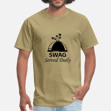 Daily Swag served daily - Men's T-Shirt