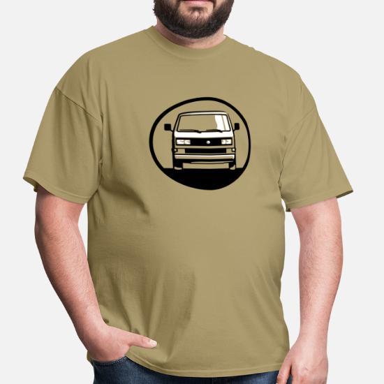 T3 2 Bus (front + your Text) Men's T-Shirt | Spreadshirt