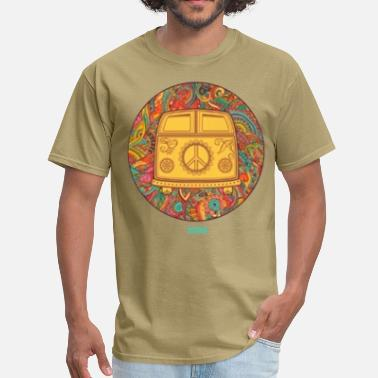 Hippie HIPPIE WAGON - Men's T-Shirt