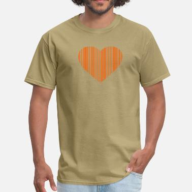 Married barcode love - Men's T-Shirt