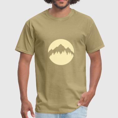 Calgary Rocky Mountains Forest and Mountains - Men's T-Shirt