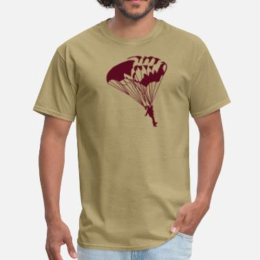 Parachuting parachuting - Men's T-Shirt