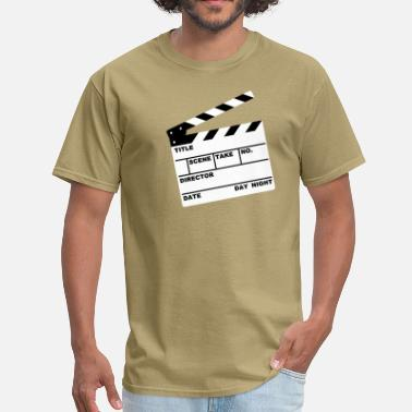Clapperboard clapperboard (writable flex) - Men's T-Shirt