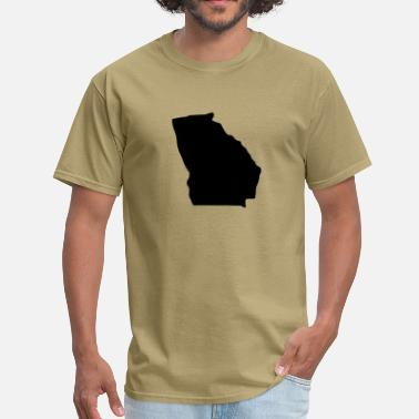 Georgia State State of Georgia - Men's T-Shirt