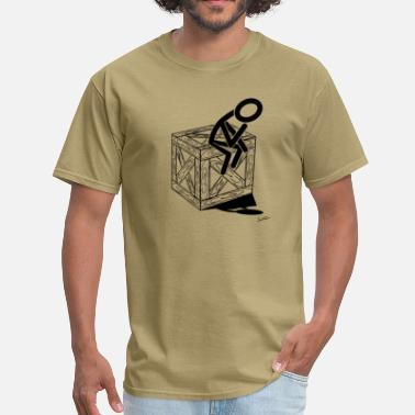 Think Outside The Box think outside of the box - Men's T-Shirt