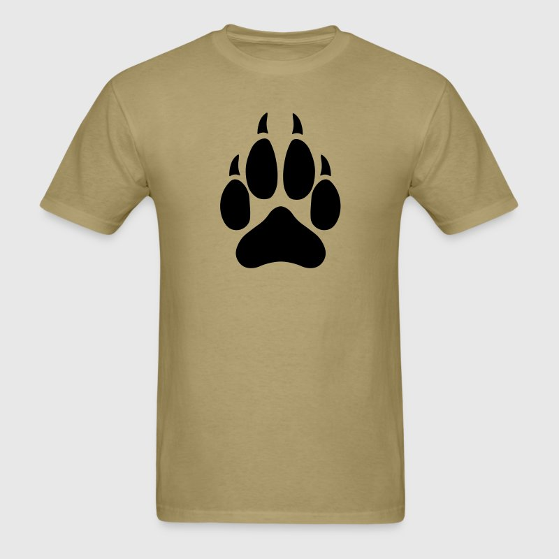 Wolf Paw - Men's T-Shirt