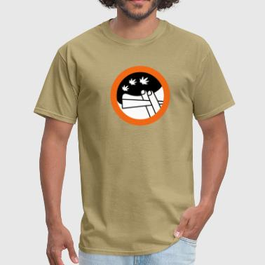 Hashish roadsign spliff - Men's T-Shirt