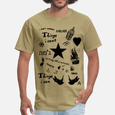 Directioners Harry's Tattoos - Men's T-Shirt