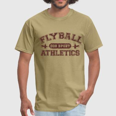 flyball athletics brown - Men's T-Shirt