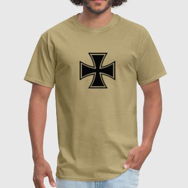 Biker Cross - Men's T-Shirt