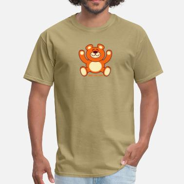 Teddy Christmas Teddy Bear - Men's T-Shirt