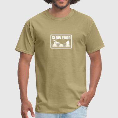 slow food - Men's T-Shirt