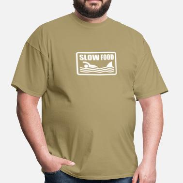 Humour slow food - Men's T-Shirt