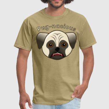 Pug-nacious Pug Dog - Men's T-Shirt