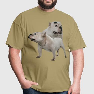 White American Bully - Men's T-Shirt