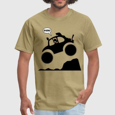 Stickman Baja Jumpin Men's-T - Men's T-Shirt