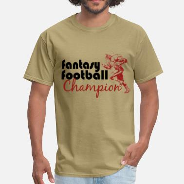 Fantasy Football Wizard Fantasy Football Champ - Men's T-Shirt