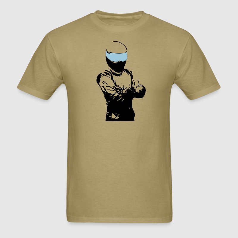 The Stig [Top Gear] (Simple) - Men's T-Shirt
