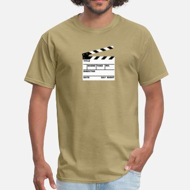 Cut clapperboard (writable flex) - Men's T-Shirt