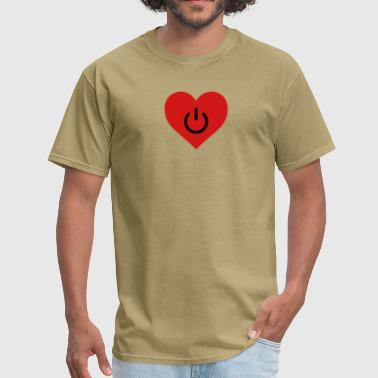 Relation power of love v2 - Men's T-Shirt